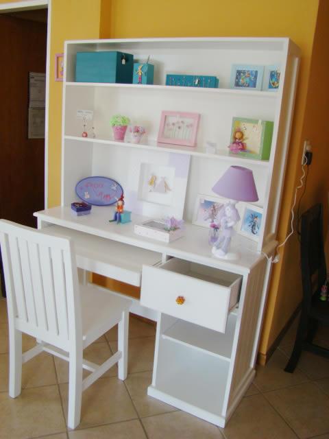 Muebles Infantiles - Escritorio con Alzada Modelo Melanie